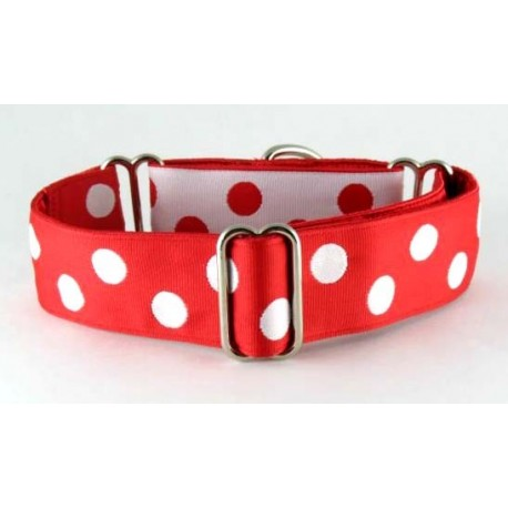 White Dots on Red