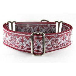 Celtic Hounds Burgundy
